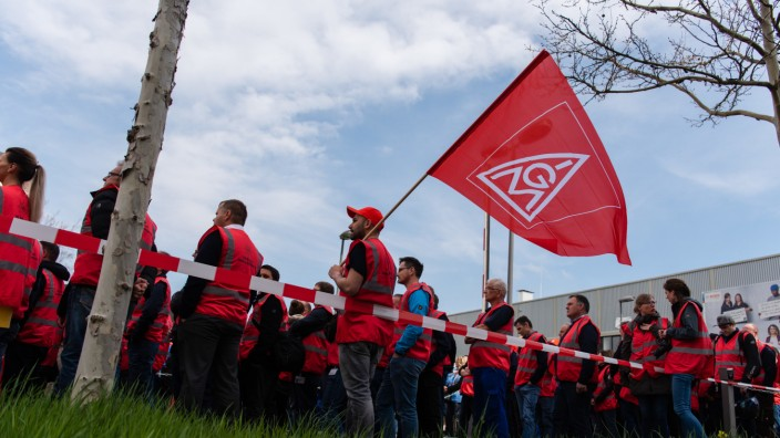 IG-Metall Demonstration bei Bosch