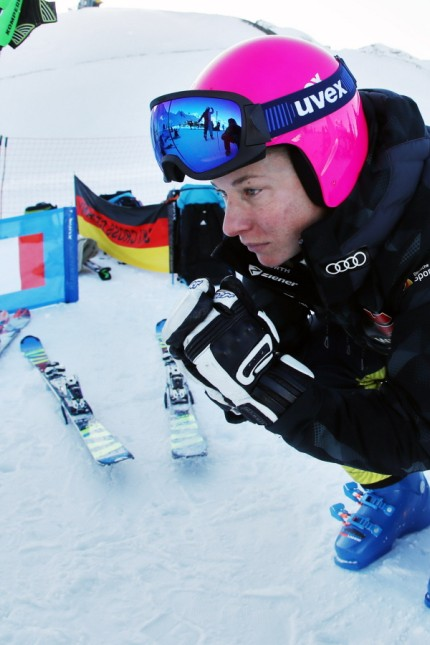 FREE STYLE - FIS SX WC Val Thorens VAL THORENS,FRANCE,06.DEC.19 - FREESTYLE SKIING - FIS World Cup, Ski Cross. Image sho; Skicross