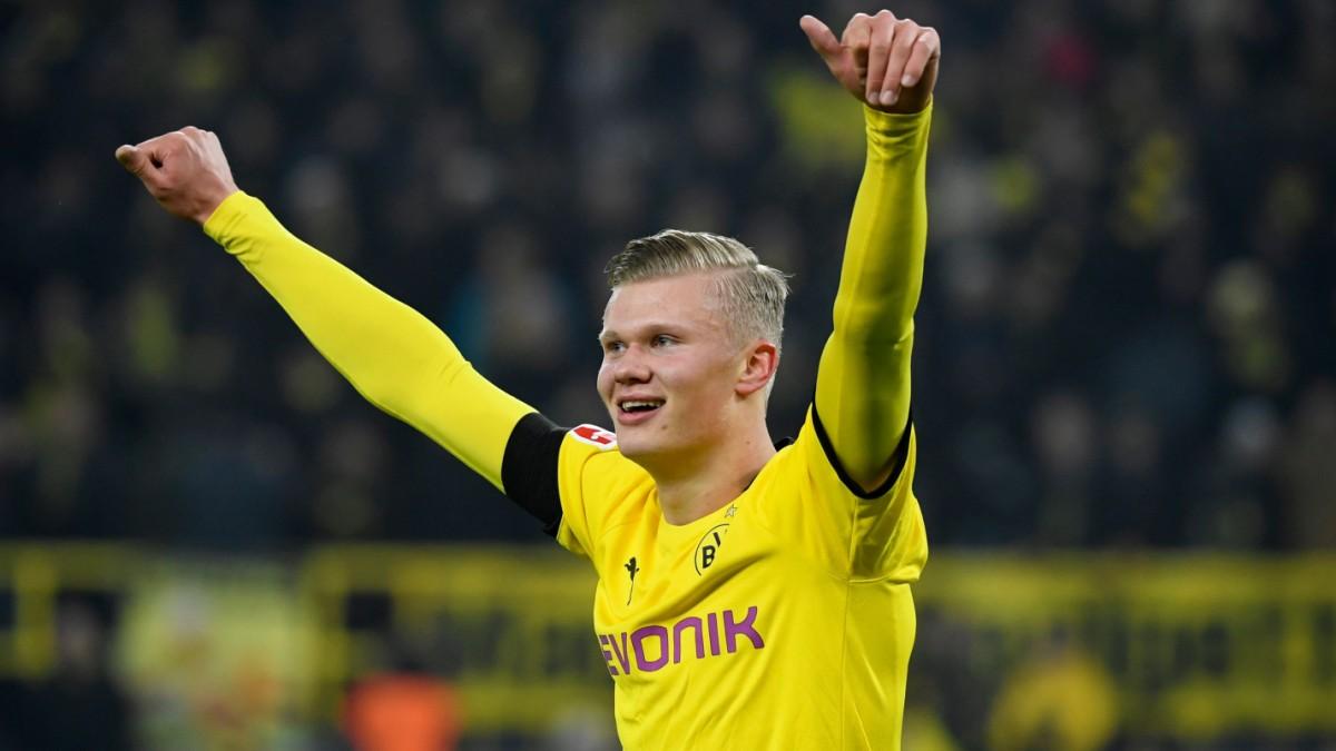 Dortmund setzt Aufholjagd bei Haalands Heim-Debüt fort