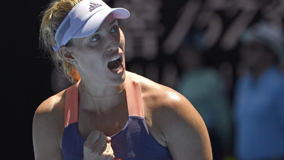 Australian Open: Kerber kämpft sich ins Achtefinale