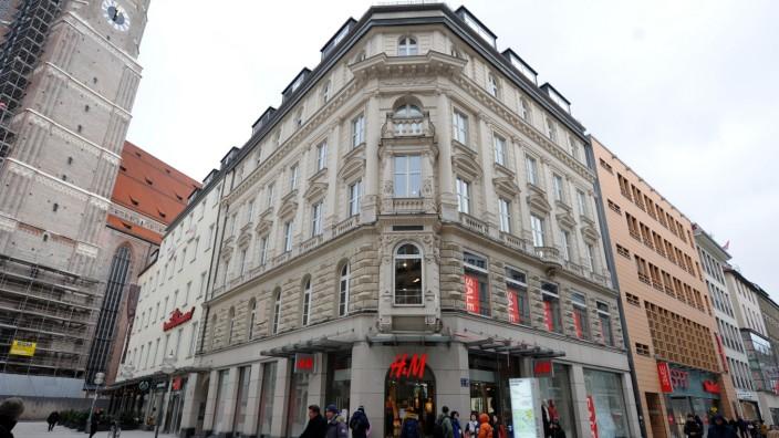 H&M Filiale in München, 2019