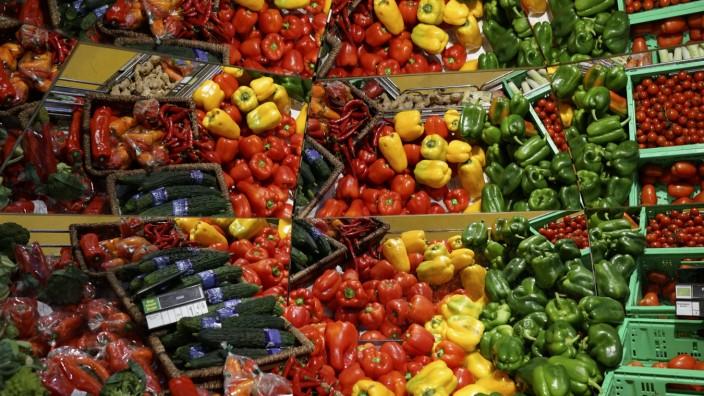 Supermarkt GER Deutschland 20120607 Warenangebot