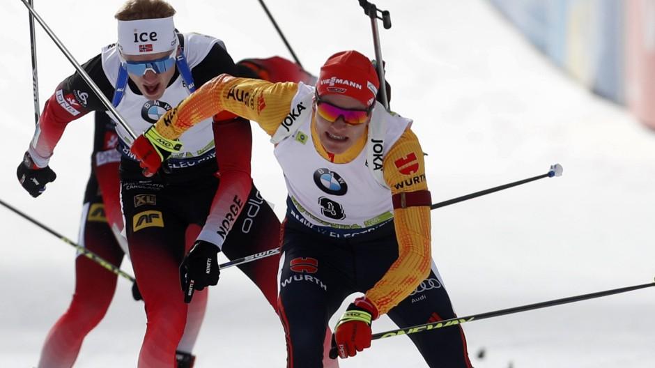 Biathlon - Doll entkommt der Falle