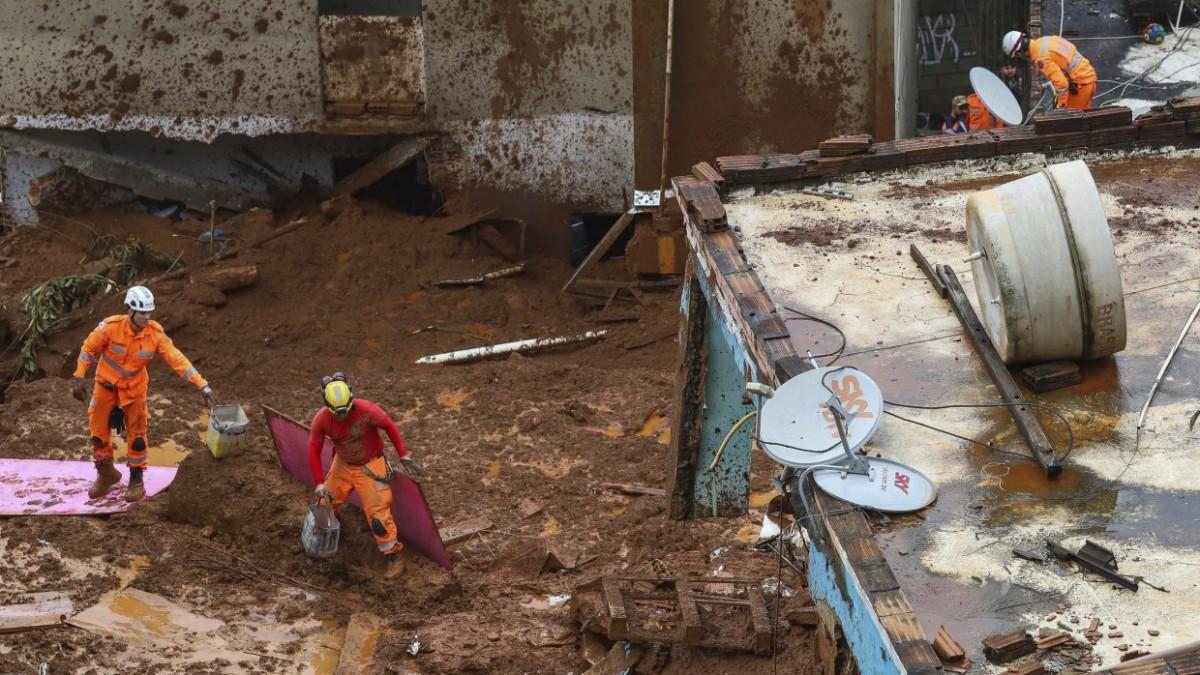 Dutzende Tote nach Unwetter in Brasilien