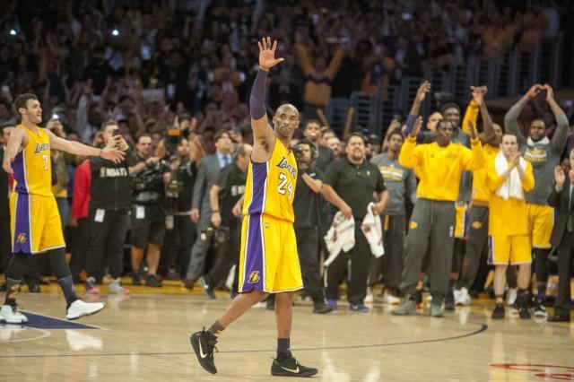 Basketball Letztes NBA Spiel von Kobe Bryant April 13 2016 Los Angeles The Lakers Kobe Bryant; Kobe Bryant 2016