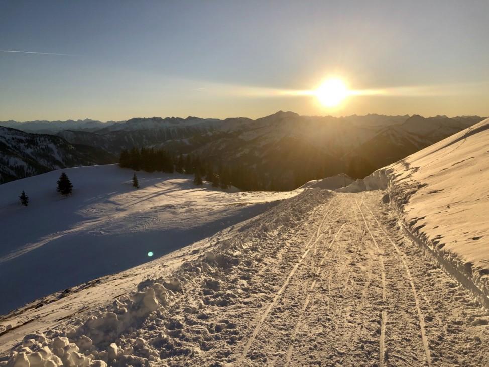 Rotwand Winterwanderung