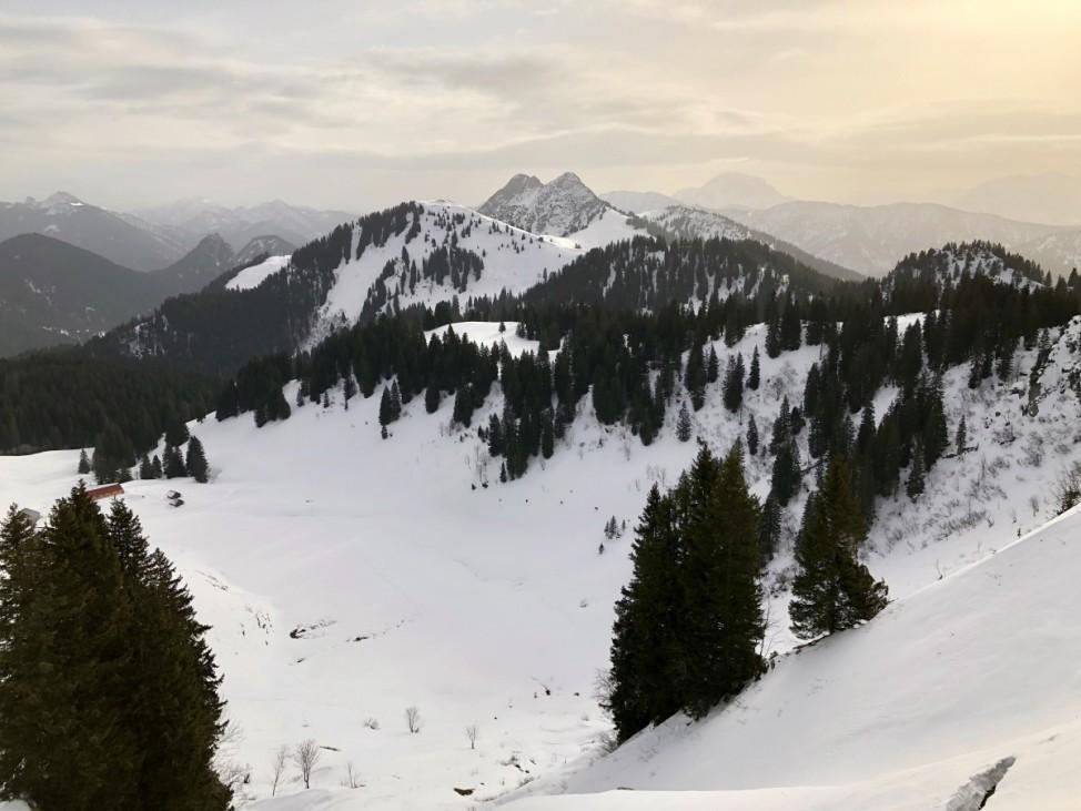 Seekarkreuz Winterwanderung