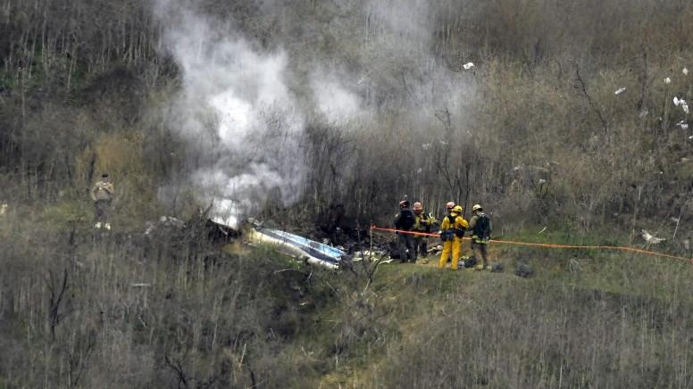 Kobe Bryants Helikopter krachte bei Nebel in Berghang