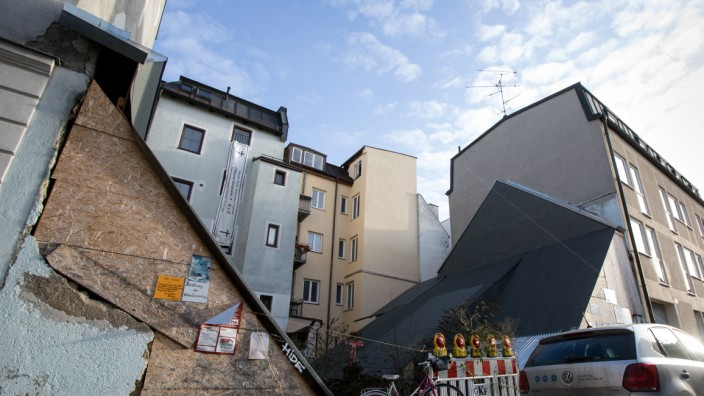 Baulücke Uhrmacherhäusl, Obere Grasstraße 1 in Obergiesing