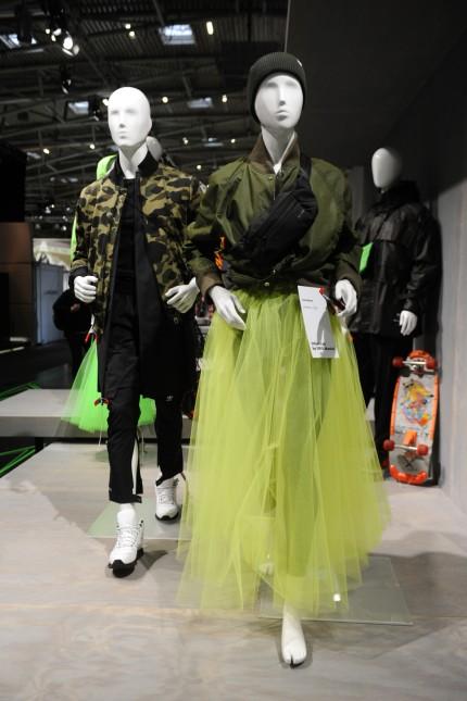 Ispo: Auch urbane Mode wird gezeigt.