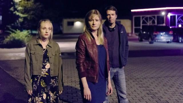 Das Erste: Drehende der Miniserie 'Das Verschwinden' (AT) mit Jul