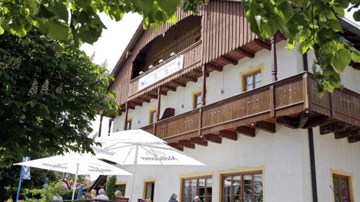Landgasthof Berg Eurasburg Gastronomie Hans Fischhaber