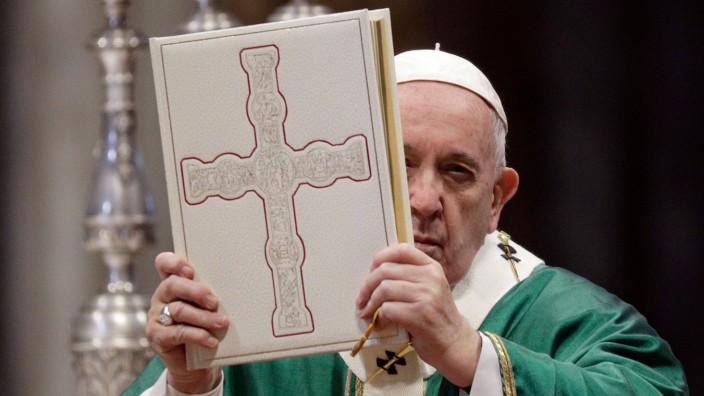 Papst Franziskus - Wort-Gottes-Feier