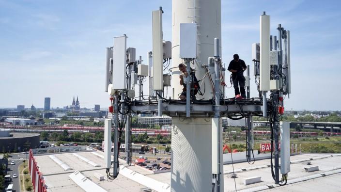 5G Sender in Köln
