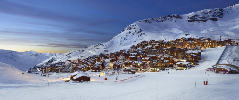 Val Thorens Frankreich Alpen Wintersport Ski