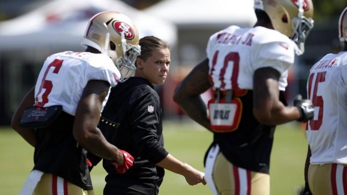 American Football: Katie Sowers, Trainerin bei den San Francisco 49ers