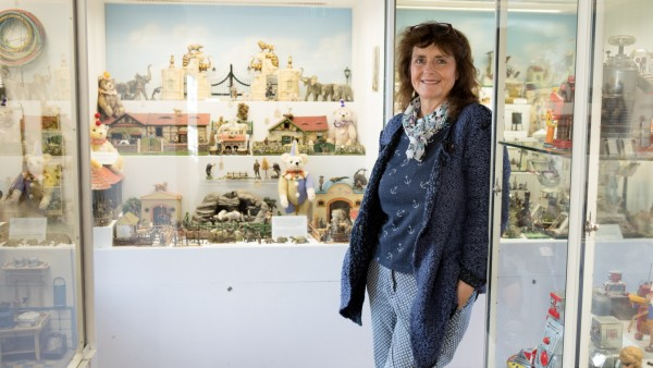 Helena Steiger, die neue Leiterin des Spielzeugmuseums