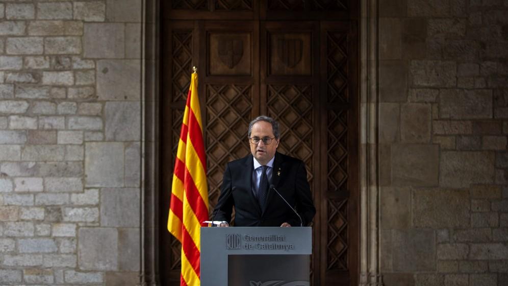 Regierungskrise in Katalonien