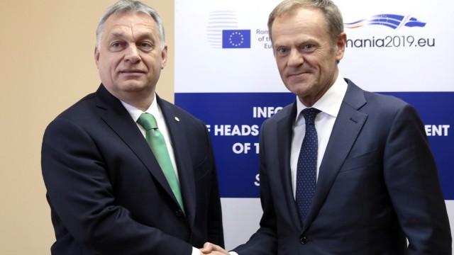 Laut Tusk keine Mehrheit für Fidesz-Rauswurf aus EVP