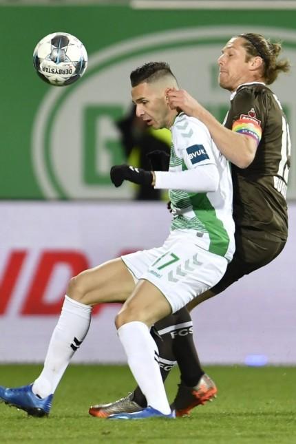 28.01.2020 - Fussball - Saison 2019 2020 - 2. Fussball - Bundesliga - 19. Spieltag: SpVgg Greuther Fürth ( Kleeblatt )