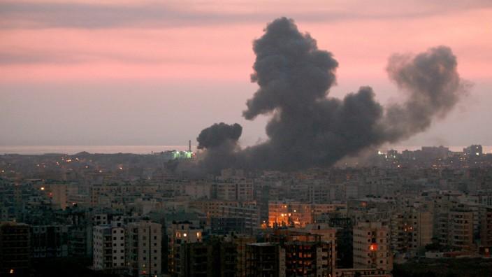 Israelische Angriffe auf Beirut