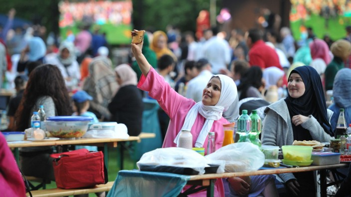 Bislang wurde kurz vor Ramadan-Ende im Luitpoldpark in Schwabing das Fasten gebrochen.