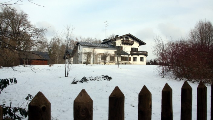 Albers-Villa im Winter