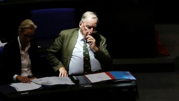 AfD: Alexander Gauland im Deutschen Bundestag