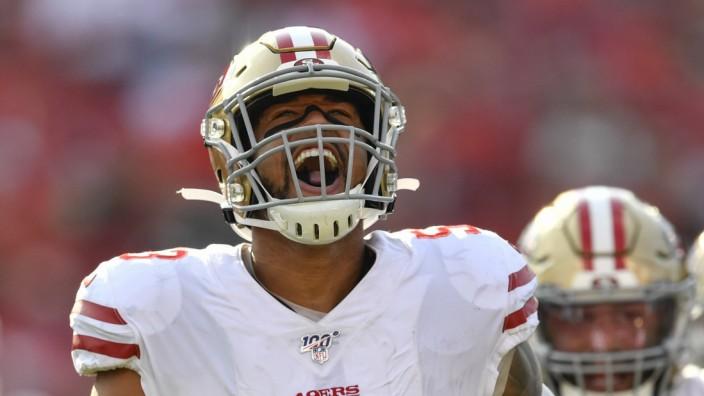 American Football: Mark Nzeocha von den San Francisco 49ers