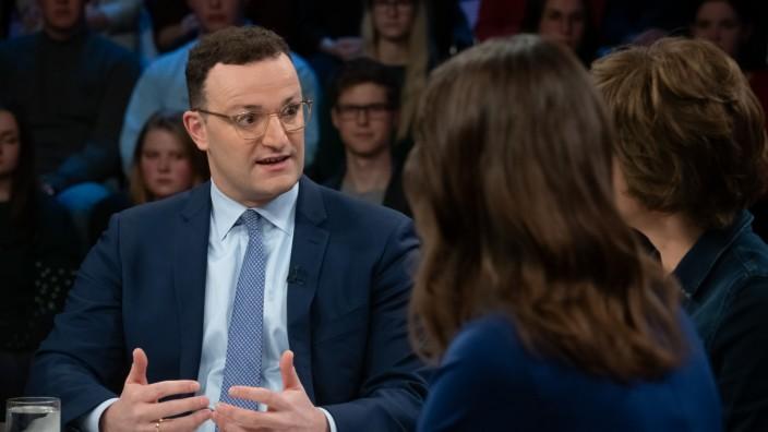 Sendung 'maybrit illner' 30.01.2020; Jens Spahn