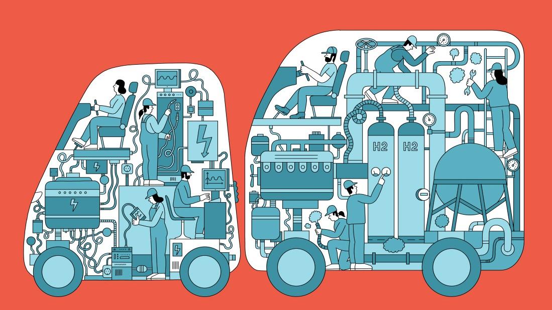 Die Fakten - Diesel, Elektro, Wasserstoff
