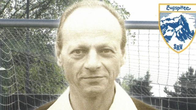 Karl Wald, Erfinder des Elfmeterschießens aus Penzberg Autogrammkarte