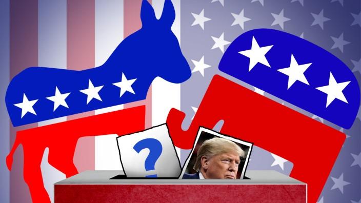 Vorwahlen USA