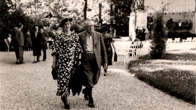Leo und Else Bendel kurz nach ihrer Ankunft in Wien