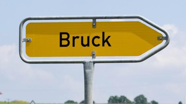 Ortsschild Gemeinde Bruck