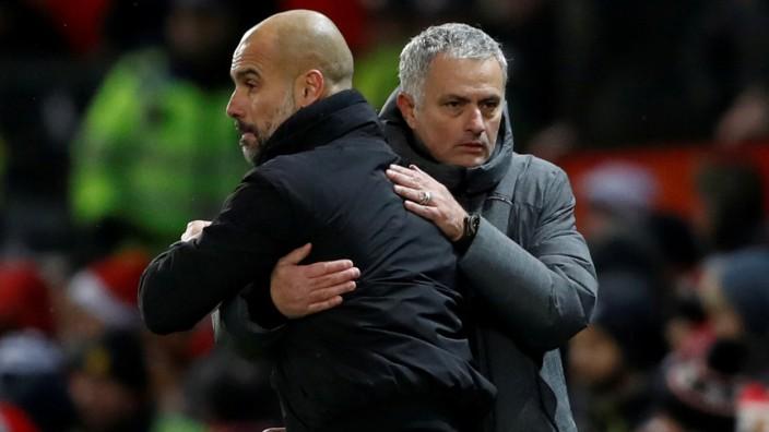 FILE PHOTO: Premier League - Manchester United vs Manchester City