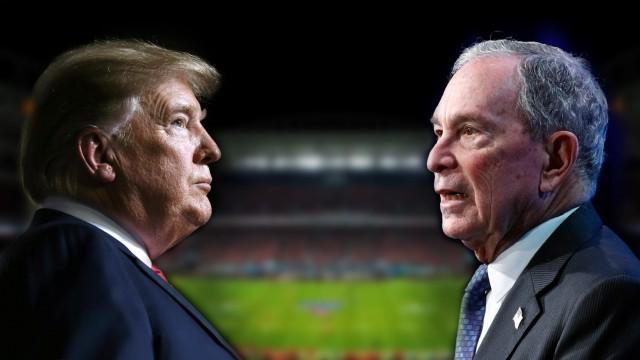 USA: Donald Trump und Michael Bloomberg