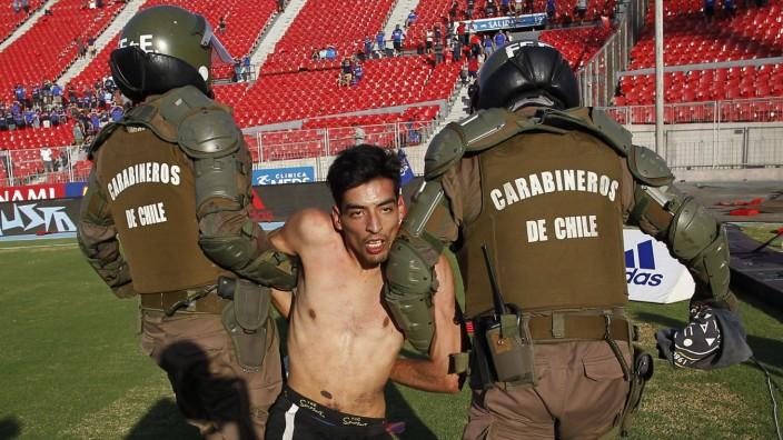 Futbol, Universidad de Chile vs Curico Unido. Segunda fecha, campeonato nacional 2020 El jugador de Universidad de Chile
