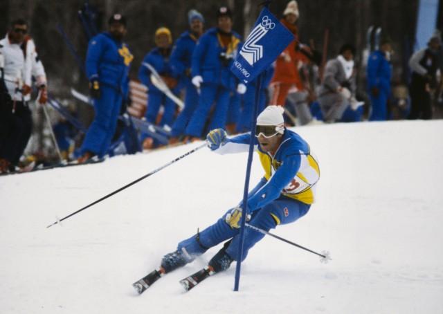 Ski Alpin Olympische Spiele 1980 STENMARK SWE Olympische Winterspiele Lake Placid 13 24 02 1980 S; lake placid 1980 stenmark