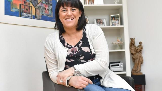 Sonja Wagner kämpft gegen den Brustkrebs