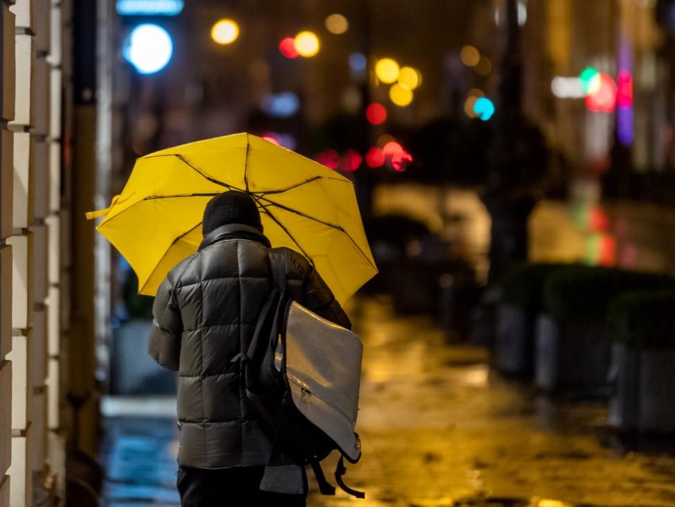 Windiges Wetter in München