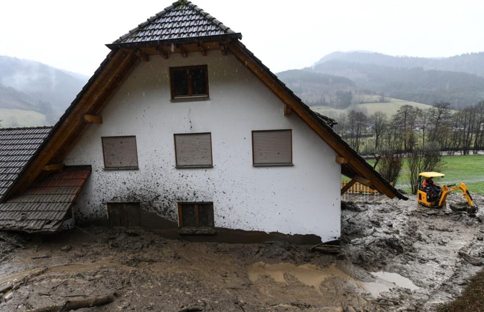 Hochwasser in Baden-Württemberg