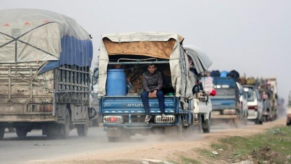 Syrien: Flucht aus der Provinz Idlib