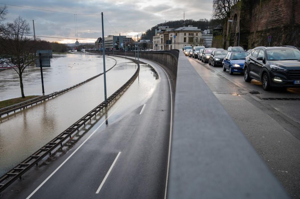 Hochwasser - Saarbrücken