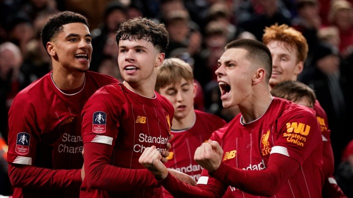 FA Cup Fourth Round Replay - Liverpool v Shrewsbury Town
