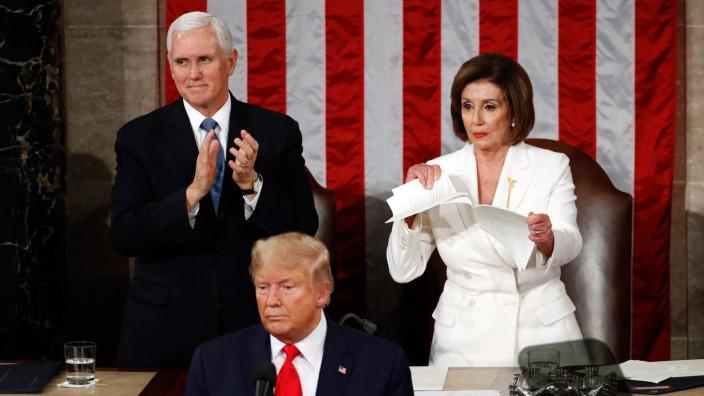 Rede zur Lage der Nation von US-Präsident Trump