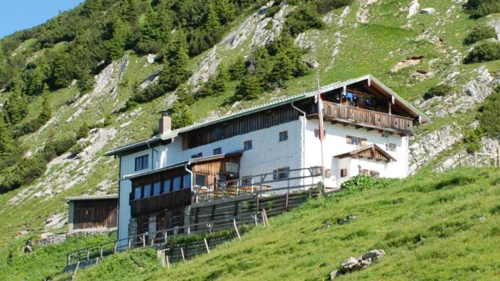 Tölzer Hütte Schafreuter Vorkarwendel Sanierung Alpenverein Bad Tölz
