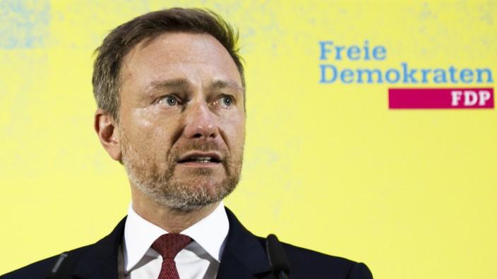 Ministerpräsidentenwahl Thüringen - Statement Lindner