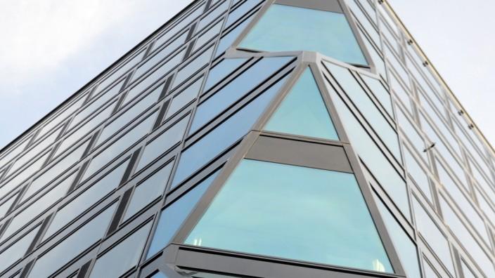 Atlas-Hochhaus im Münchner Werksviertel, 2020