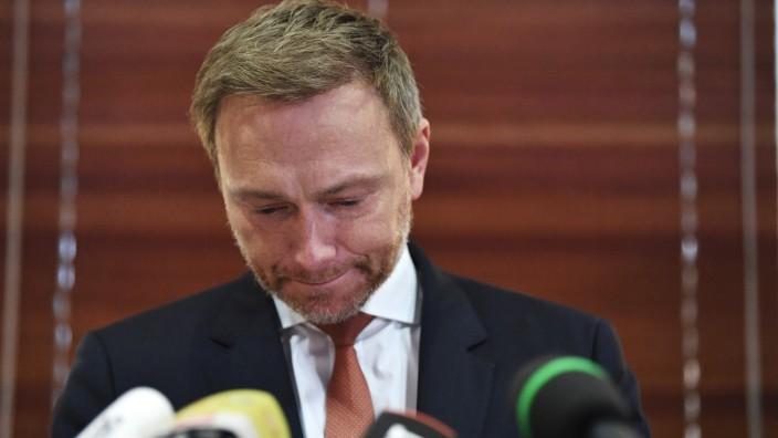 Nach MinisterprâÄ°sidentenwahl Th¸ringen